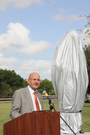June 2, 2012 Kika de la Garza Statue Unveiling