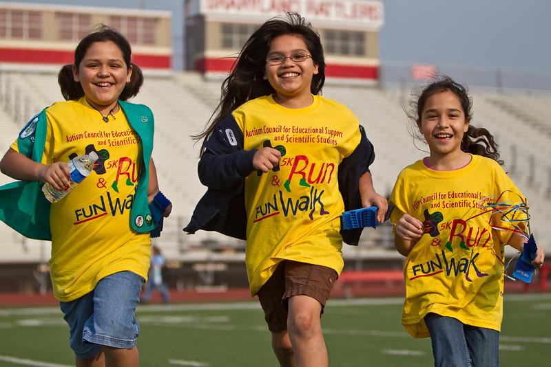 April 16, 2011 Autism Awareness Run & Walk dy