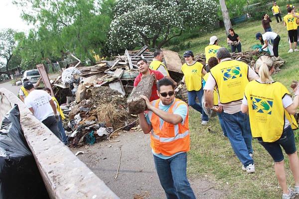 March 17, 2012 Mormon Helping Hands Llano Grande Service